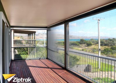 Ziptrak Blinds beach
