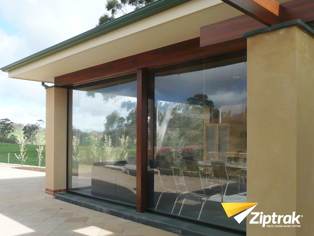 Ziptrak Blinds PVC