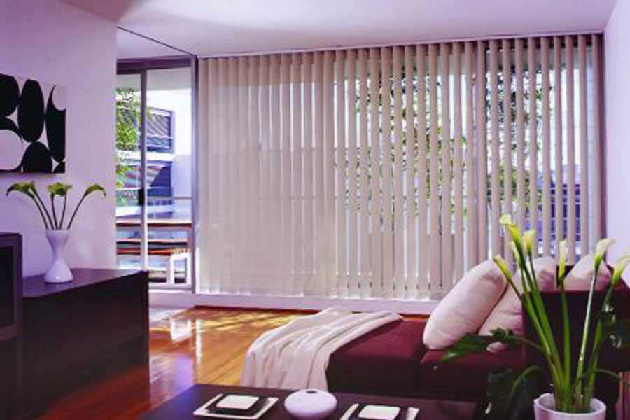 Indoor Verticle Blinds